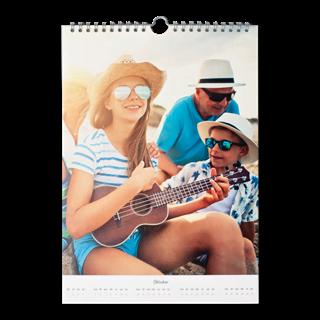 Fotokalender A4 Staand vooraf kopen