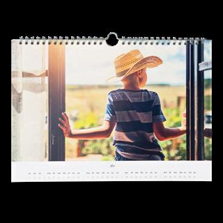 Fotokalender A4 Liggend vooraf kopen