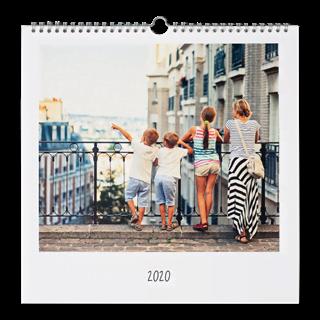 Fotokalender 30x30 Vierkant vooraf kopen