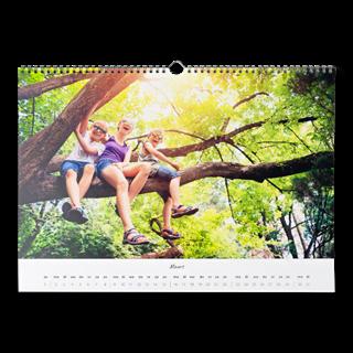 Fotokalender A3 Liggend vooraf kopen