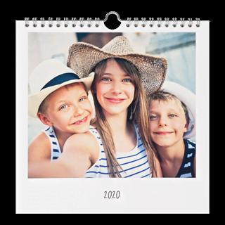 Fotokalender 21x21 Vierkant vooraf kopen