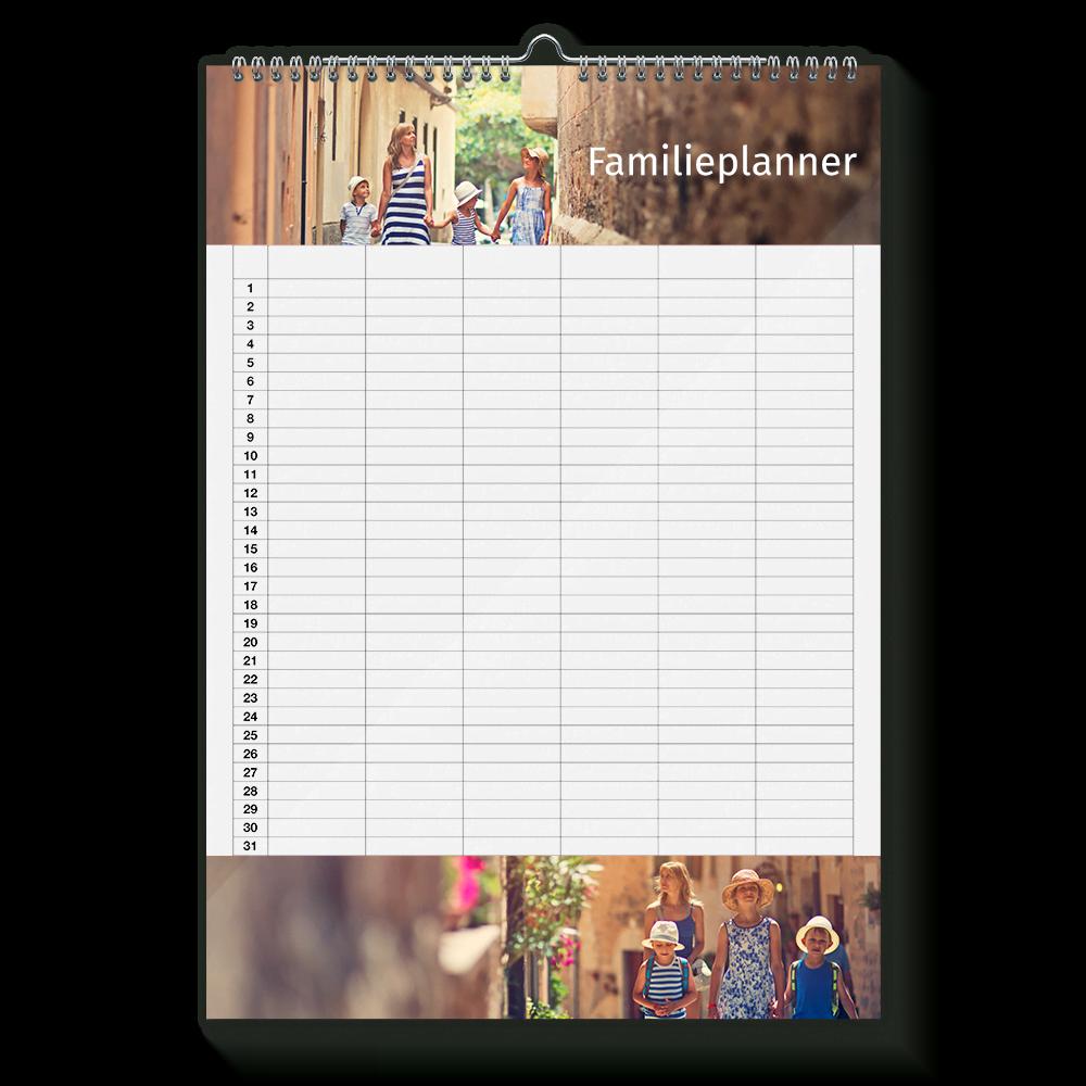 Hedendaags Familieplanner 2020 maken - Foto's van het hele gezin OW-58