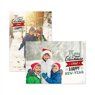 Kerstkaarten Enkel A6 Liggend (8 st) vooraf kopen