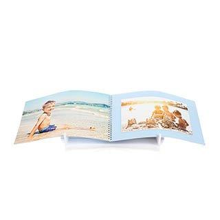 Fotoboek Spiraal A4 Liggend  360 foto