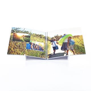 Fotoboek Spiraal 30x30 Vierkant 360 foto