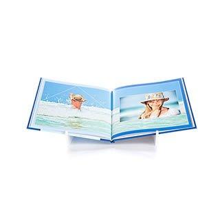 Fotoboek Hardcover 21x21 Vierkant 360 foto