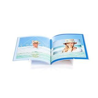 Fotoboek Softcover 21x21 Vierkant 360 foto