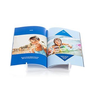 Fotoboek Softcover A4 Staand